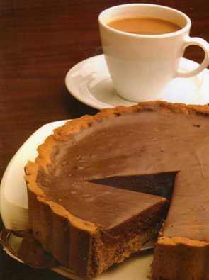 Çikolata Dolgulu Tart