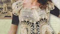 Delikli Çiçekli Elbise