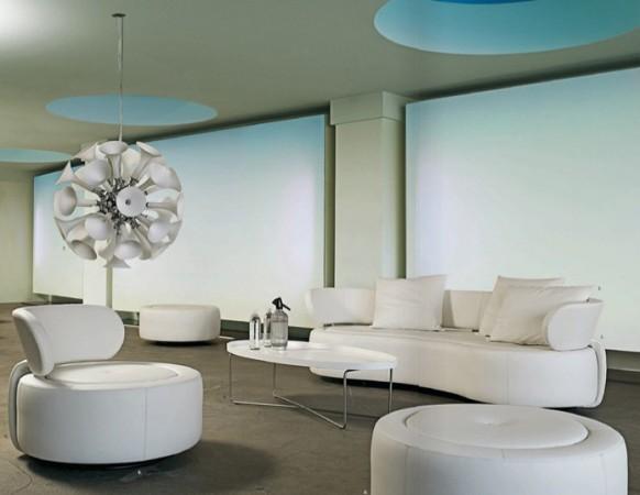 beyaz oturma odası takımı