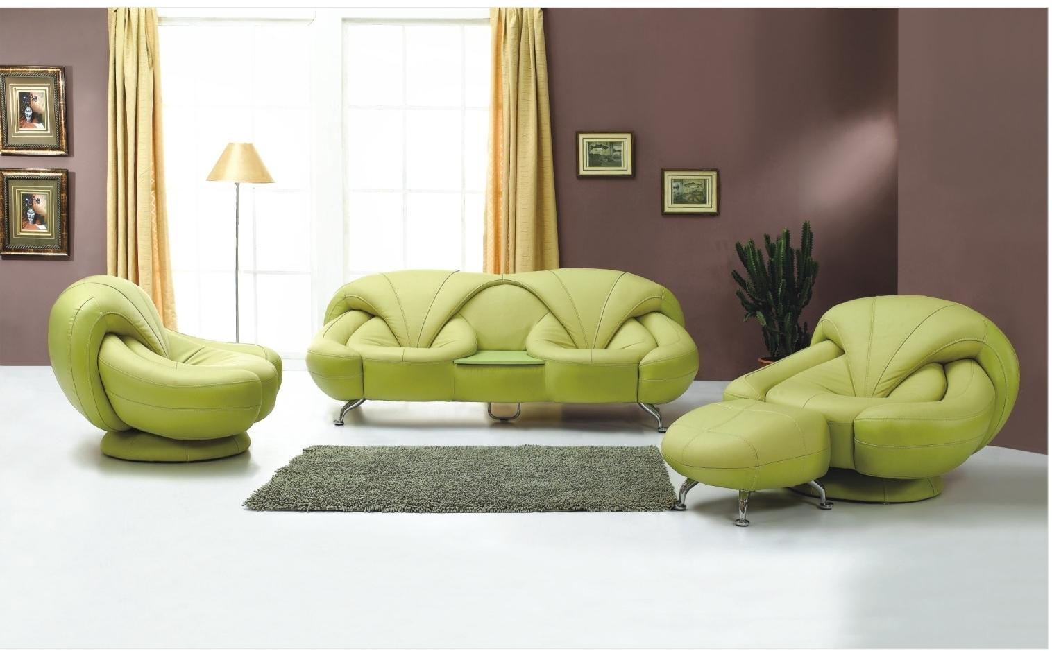 yeşil oturma odası takımı