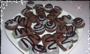 Kakaolu Badem Topları