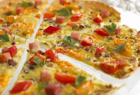 Lavaş Ekmeğinde Pizza