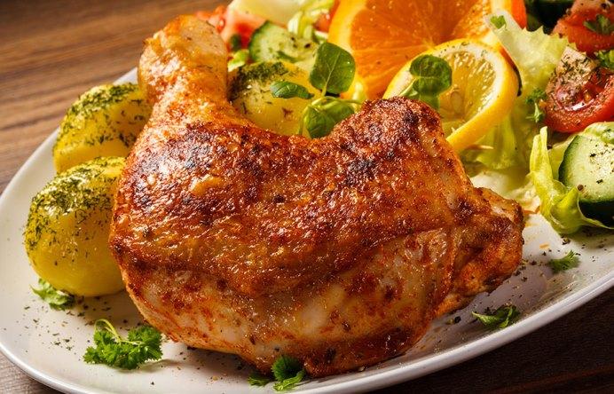 Limonlu Otlu Tavuk