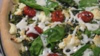 Lor Peynirli  Çeri Domatesi Salatası