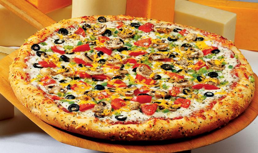 Mantarlı ve Enginarlı Pizza Yapılışı