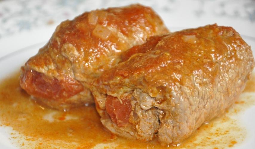 Pastırmalı Biftek Sarma Yapılışı