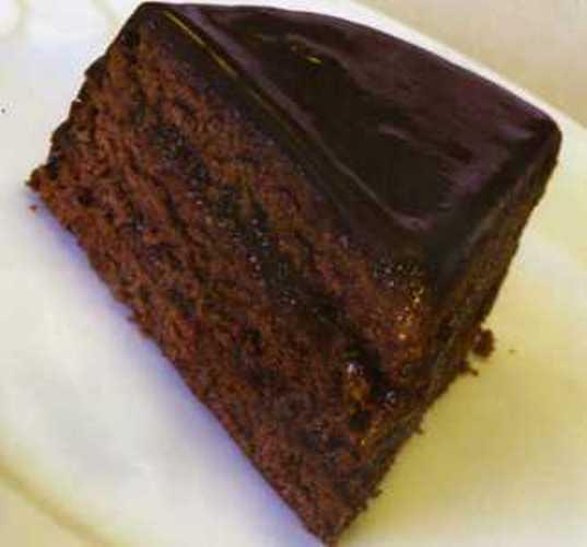 Sacher Cake (Zaher Kek)