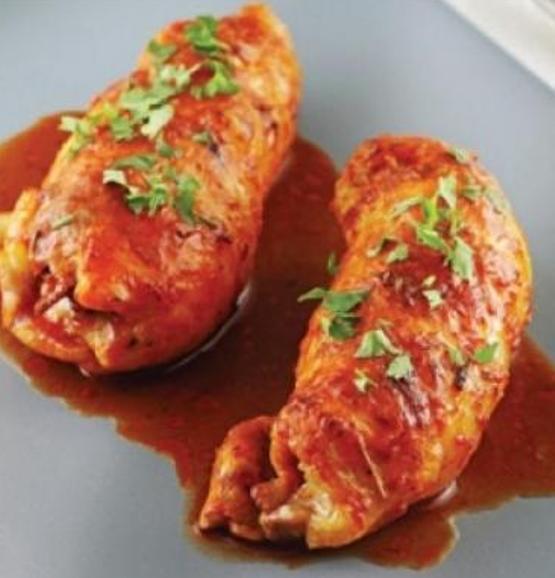 Salamlı Tavuk Göğsü Sarması Tarifi