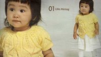 Sarı Kısa Kollu Düğmeli Bebek Yeleği