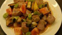 Sebzeli Dana Kebabı