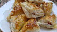 Sosisli Peynirli Milföy Börek