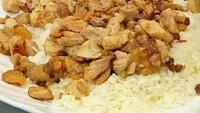 Tavuklu Kayısılı Pirinç Pilavı