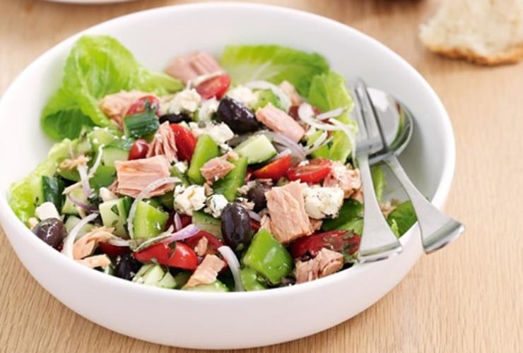 Ton Balıklı Fasulye Salatası Yapılışı