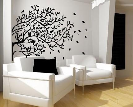 ağaç stickeri
