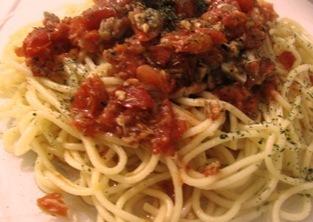 Balıklı Spagetti