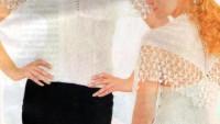 Tıg İşi Beyaz Bluz Modeli