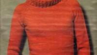 Boğazlı Kırmızı Bayan Kazak Modeli