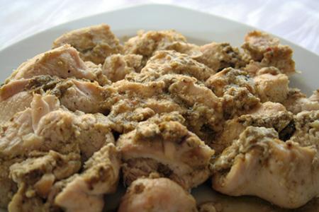 Çam Fıstıklı Tavuklu Bulgur