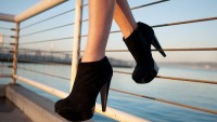 Çift Platformlu Bayan Ayakkabıları