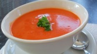 Domatesli  İrmik Çorbası