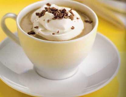 dondurmalı ılık çikolata