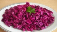 Elmalı Kırmızı Lahana Salatası