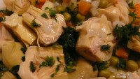Sote Mantar ve Enginar Salatası
