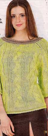 fıstık yeşili saç örgülü kayık yaka örgü bluz