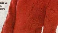 Farklı Burgu Modelli Uzun Kollu Örgü Elbise