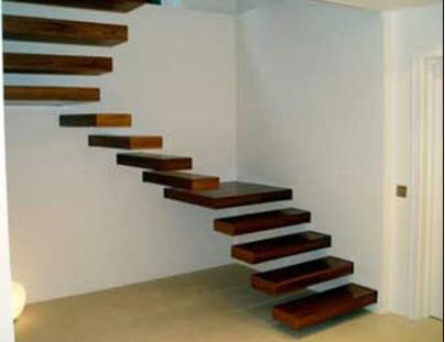 rn Ahşap Merdiven Örnekleri