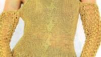 Farklı Modelli Örgü Bluz Yapımı