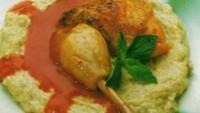 Fırında Beğendili Tavuk