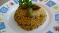 Pirinçli Fasulye Pilavı