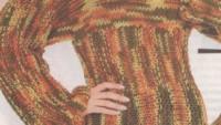 Haraşo İşlenmiş Saçaklı Bayan Bluz Modeli