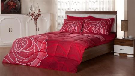 kırmızı uyku seti çeşitleri