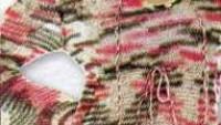 Kapşonlu İp Süslemeli Uzun Kollu Örgü Elbise
