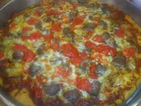 Kıymalı  Pizza