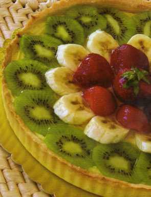 Meyveli Tart