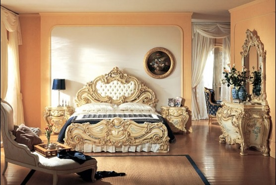 Klasik Yatak Odası Örnekleri