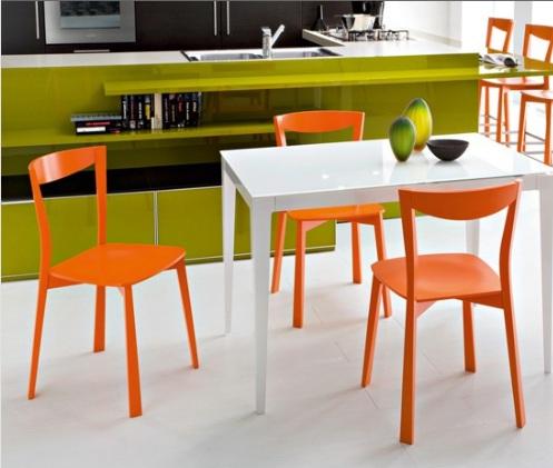Renkli Masa Sandalye Modelleri