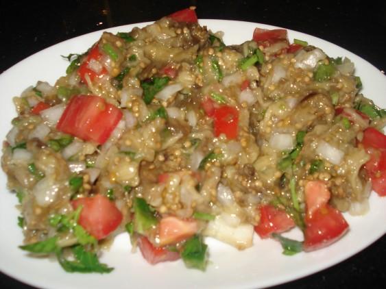 Patlıcan Biber Ezmeli Tavuk