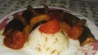 Pilavlı Patlıcan Kebabı