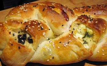 Pırasalı Challah Ekmek
