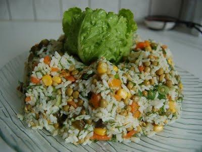 Kayısılı Pirinç Salatası