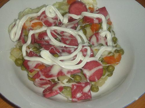 Pratik Sebze Salatası