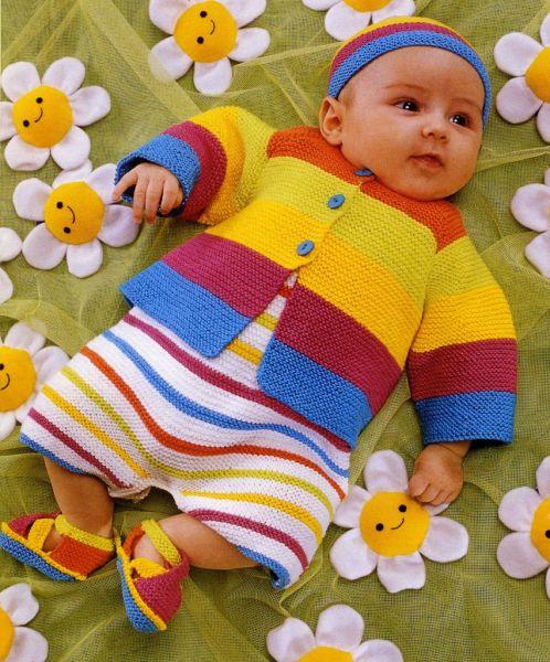 renkli bebek örgüleri