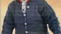 Sık İğne Modelli Düğmeli Erkek Ceketi