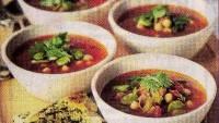 Sebzeli Harira Çorbası