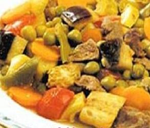 Sebzeli Kuzu Kebabı