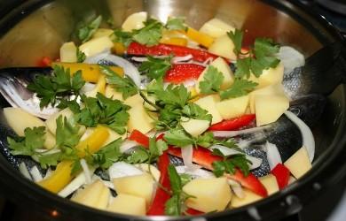 Sebzeli Mezgit Balığı